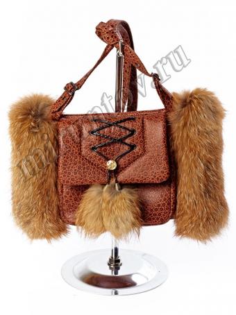 Муфта - сумка женская